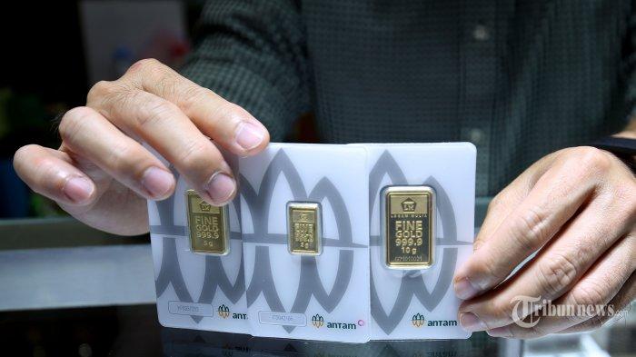 Harga Emas Antam Selasa, 9 Maret 2021: Turun Rp 9.000 per Gram, Berikut Rinciannya